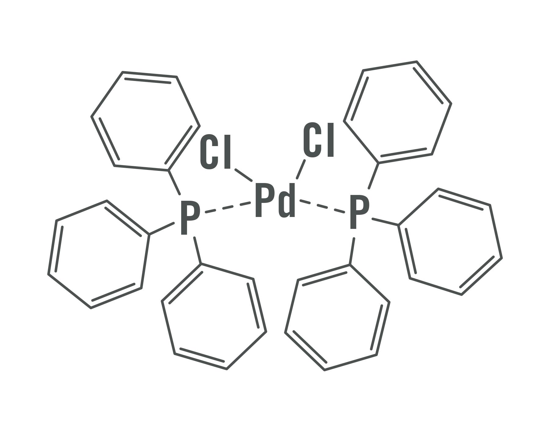 Dichlorobis(triphenylphosphane)palladium(II)