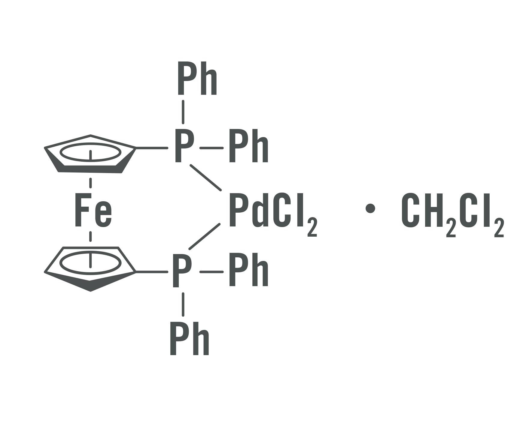 Dichloro[1,1'-ferrocenylbis(diphenylphosphane)]palladium(II)
